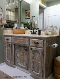 Bathroom Cheap Makeover Truth In Makeovering Low Cost Rustic Bathroom Makeover Salvage