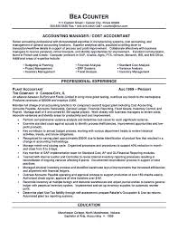 Best Resume Format Of Accountant by Picturesque Accounting Resume Samples Sample Resumes And Tips