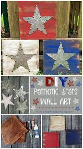 patriotic decor create your own patriotic decor americana metal and wood