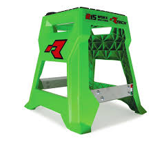 motocross bike stands racetech new mx r15 green kawasaki worx motorcycle motocross dirt
