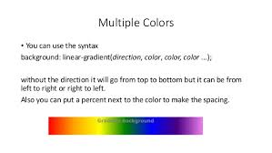 Top Right Or Right Top Css Gradients