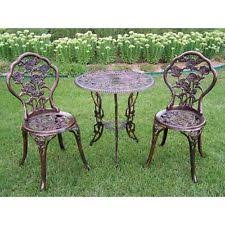 Wrought Iron Patio Furniture by Woodard Wrought Iron Outdoor Furniture Sets Ebay