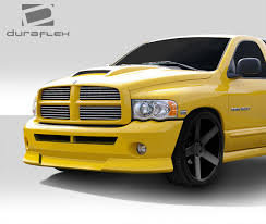 Dodge Ram Yellow - 02 05 dodge ram bt 1 duraflex front body kit bumper 112003 ebay