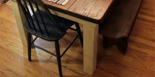 How To Build Kitchen Table by Remodelaholic Build A Farmhouse Table For Under 100