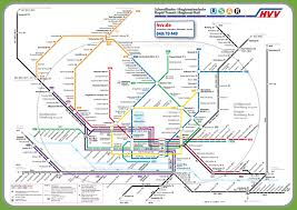 Germany Rail Map by Hamburg Transport Map