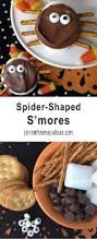 spooky spider s u0027mores