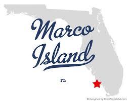 Marcos Island Florida Map Map Of Marco Island Fl Florida