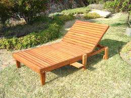 Plans For Wooden Chaise Lounge Chaise Leisure Season Patio Lounge Chaise With Pull Out Tray