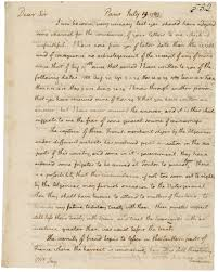 thanksgiving proclamation 1789 letter from thomas jefferson to john jay