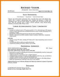 sample career summary 8 professional summary sample letter of apeal