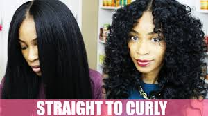 bob hairstyles u can wear straight and curly how to curl synthetic hair natural hair kinky straight wig youtube