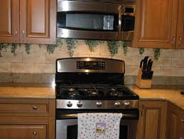 painted kitchen backsplash hand painted kitchen backsplashes