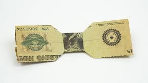 wedding money dollar bow tie wedding money gift idea origami in 4k youtube
