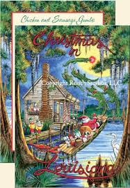 greeting cards cajun greeting cards santa s sw cabin