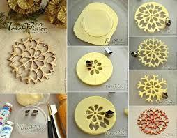 ideas diy salt dough snowflake ornaments