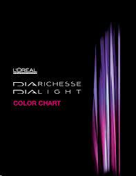 l u0027oréal color chart diarichesse u0026 dialight by labios rojos