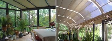 greenhouse sunroom four seasons sunroom shades by thermal designs inc