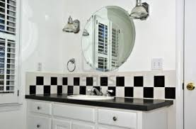 Blue And White Bathroom Ideas by Enchanting 20 Black White And Blue Bathroom Ideas Decorating