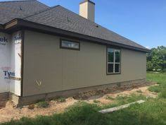 sherwin williams nomadic desert on hardie board houses