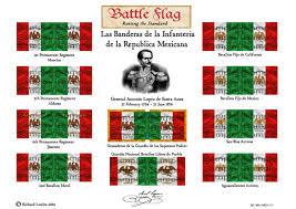 1876 American Flag 18 U0026 20mm Mexican Battle Flag