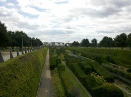 thames barrier park opening hours view of the sunken garden picture of thames barrier park london