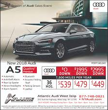 audi a4 lease specials lease specials weekly ad islip york 11795 atlantic
