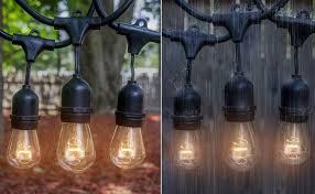amazon com outdoor u0026 indoor edison style string lights