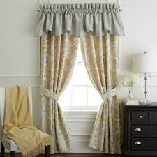 yellow bedroom curtain waterford eveleen pole top 84 inch window