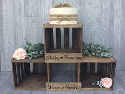 rustic wedding cupcakes rustic wedding cupcake stand crate cupcake stand wood