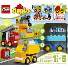 lego cars lego duplo my first my first cars and trucks 10816 walmart com