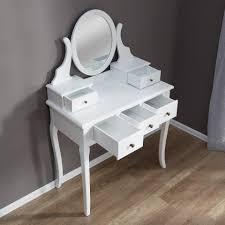 Conforama Schlafzimmer Set Schminktisch Weiß 5 Schubladen U0026 Spiegel Preiswert Dänisches