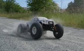 rc car rival monster truck gravel