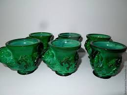 buy coffee cups buy 6 coffee cups malachite glass hoffmann on livemaster online shop