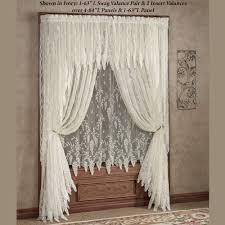 lace curtains decor windows lace valances for windows designs best 25 lace curtains