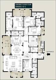 floor plans bellevue towers downtown dubai penthouse floor plans