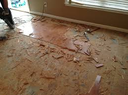 flooring removal and installation
