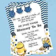minion baby shower ideas minion baby shower invitations kawaiitheo