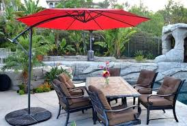 Patio Umbrellas Offset Offset Patio Umbrella 10 Roundquality Patio Umbrellas