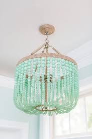 turquoise beaded chandelier design obsession beaded chandeliers see shop eat do