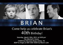 40th birthday invitations ideas for men u2013 bagvania free printable