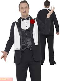 Ebay Size Halloween Costumes Mens Gangster Suit Costume Godfather 1920s Mafia Fancy Dress