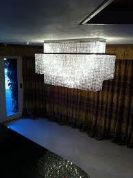 Rectangular Chandelier Fabulous Oblong Chandelier With Crystals Crystal Rectangular