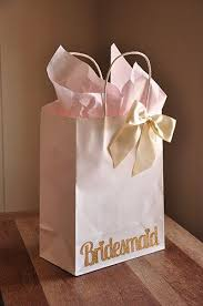 bridal party gift bags bridesmaid gift bags handcrafted in 2 5 business days large