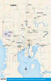 Map Of Tampa Bay Fine Dining Or Fish Shacks Seafood In Tampa Bay Moon Travel Guides