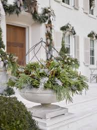 Christmas Decorations For Outdoor Containers by 1066 Best Christmas U0026 Winter Pots Images On Pinterest Christmas
