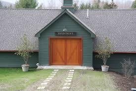 Dutchess Overhead Door Stain Grade Overhead Doors Artisan Custom Doorworks By Dutchess