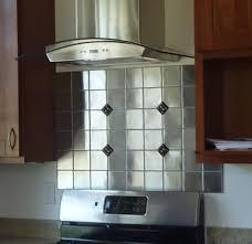 kitchen backsplash stainless steel tiles stainless steel backsplash tiles ideas new basement and tile ideas