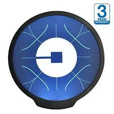 lyft light up beacon uber led light sign logo sticker decal glow wireless decal