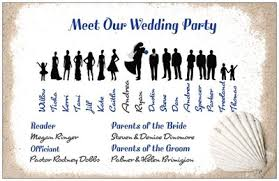 one page wedding programs wedding programs which one need opinions weddings do it