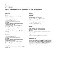 http www current appendix i listing of equipment and technology for fod